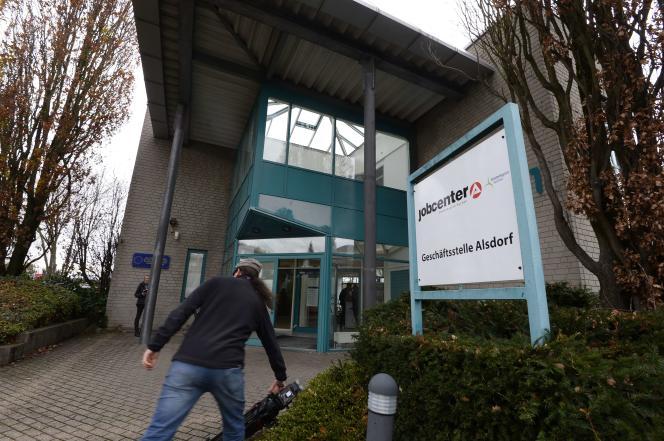 Un Jobcenter (Pôle emploi) en Allemagne, en 2015.