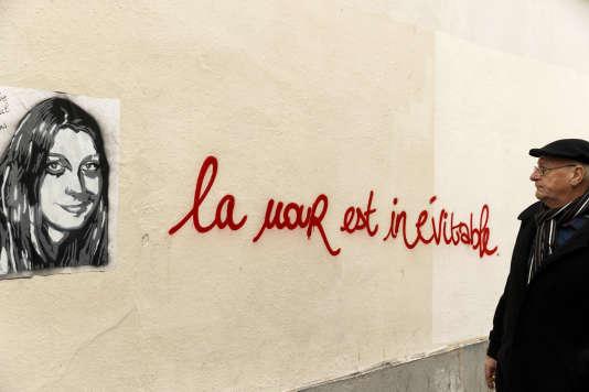 Un tag d'Elodie Breuil, une des victimes du Bataclan.