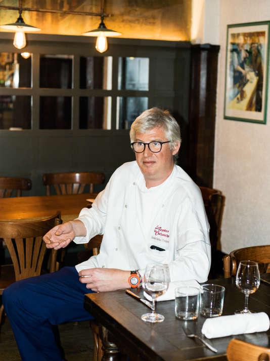 Rodolphe a accueilli des victimes de la prise d'otage du Bataclan dans son restaurant du 11e arrondissement.