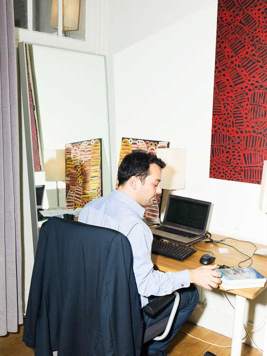 Sylvain a initié le mot-clé et l'opération Porte Ouverte sur les réseaux sociaux.