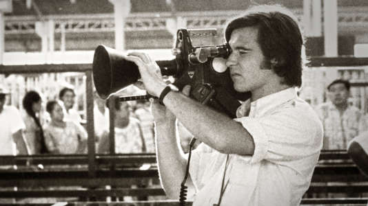 Georges Pernoud lors d'un tournage de «Thalassa».