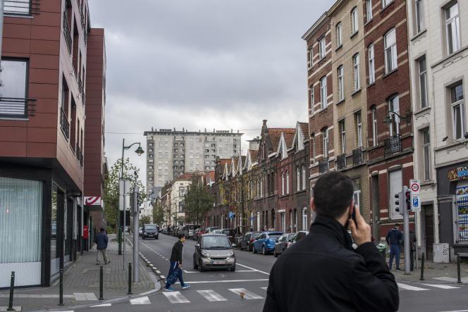 Le quartier Osseghem à Molenbeek, le 17 novembre.