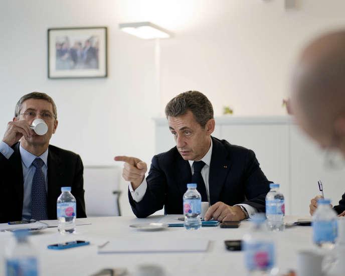 Nicolas Sarkozy, le 17 novembre, à Paris.