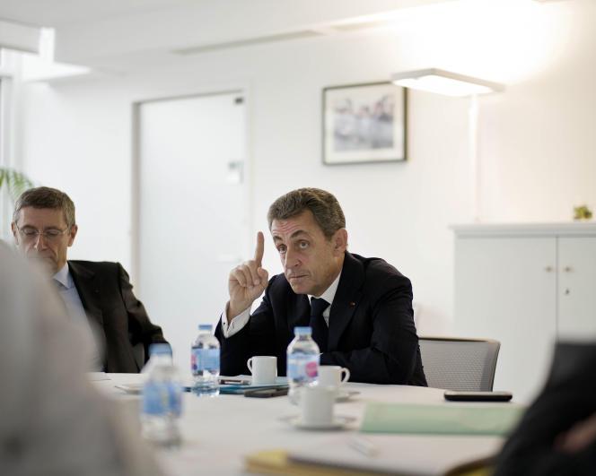 Nicolas Sarkozy, le 18 novembre.