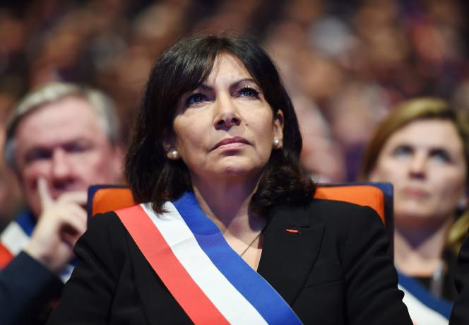 Anne Hidalgo, à Paris,le 18novembre 2015.