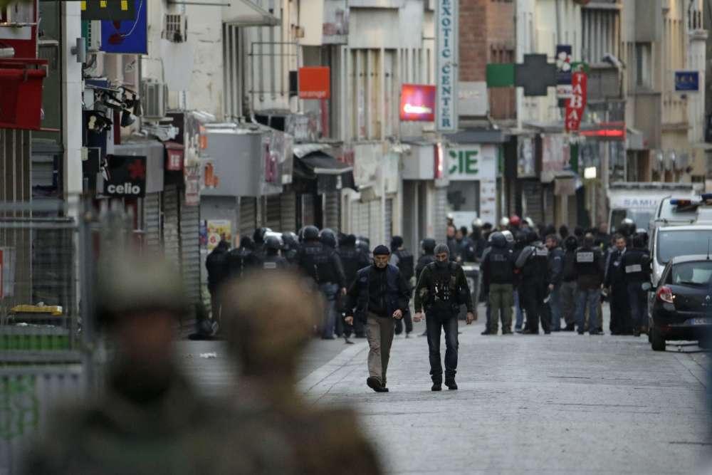 A Saint-Denis, mercredi 18 novembre au matin.