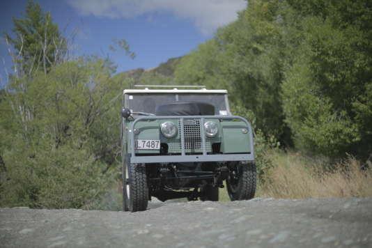 La première génération de Land Rover.