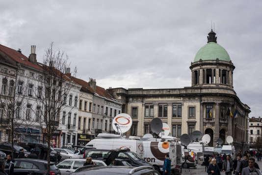 La place Molenbeek-Saint-Jean.