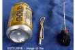 """Photo publiée dans le magazine de propagande en ligne """"Dabiq"""" du groupe Etat islamique montrant une canette de soda à côté de ce qui pourrait être un détonateur."""