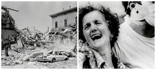 Bologne, le 2 août 1980, une partie de la gare centrale  est soufflée par une explosion. Bilan : 85 morts. C'est l'attentat le plus meurtrier des années de plomb.