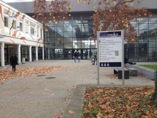 Université Paris-XIII, à Villetaneuse, dans la Seine-Saint-Denis.