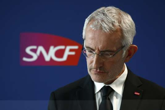 Le patron de la SNCF, Guillaume Pépy, le 19 novembre.