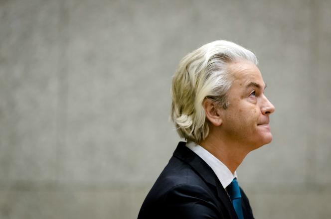 Geert Wilders, chef du Parti pour la liberté (extrême droite), à LaHaye, le 19novembre2015.