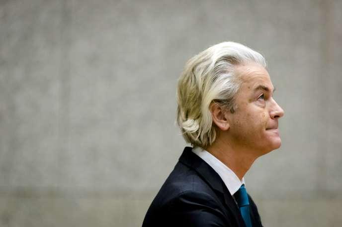Geert Wilders, à La Haye, le 19 novembre 2015.