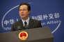 Le porte-parole du ministère des affaires étrangères, Hong Le, le 19 novembre à Pékin.