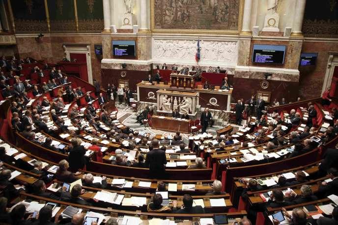 L'Assemblée Nationale le 19 novembre 2015, lors du projet de loi prolongeant l'état d'urgence. REUTERS/Charles Platiau