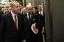 Le président turc, Recep Tayyip Erdogan, et Laurent Fabius, le 15novembre à Antalya (Turquie).