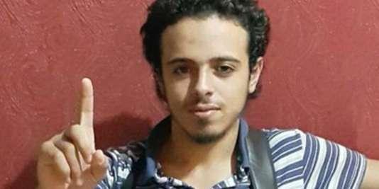 Bilal Hadfi, photo non datée et non localisée.