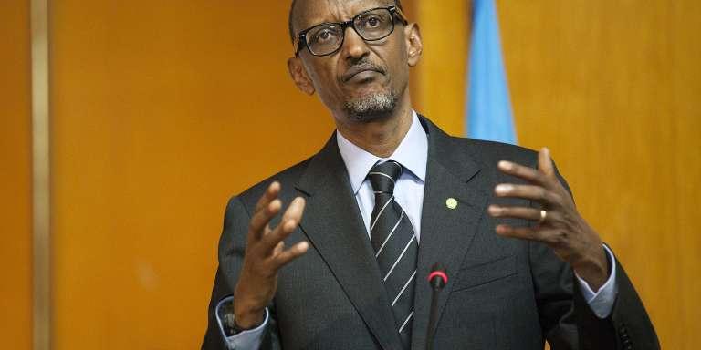 Paul Kagamé, à Addis-Abeba, en Ethiopie, en avril.