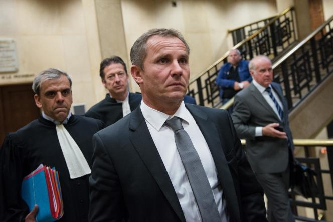 Patrick Rocca, au tribunal de Marseille, le 14octobre.