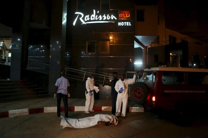L'hôtel Radisson Blu, à Bamako, au Mali, cible d'une attaque djihadiste en novembre 2015.