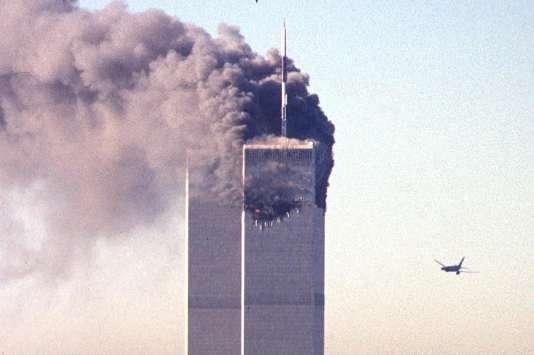 Attaque du World Trade Center à New York le 11 septembre 2001.