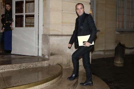 Le secrétaire général de la CFDT, Laurent Berger – ici le 20 novembre 2015 à l'hôtel Matignon –, refuse « l'approche budgétaire » de cette négociation.