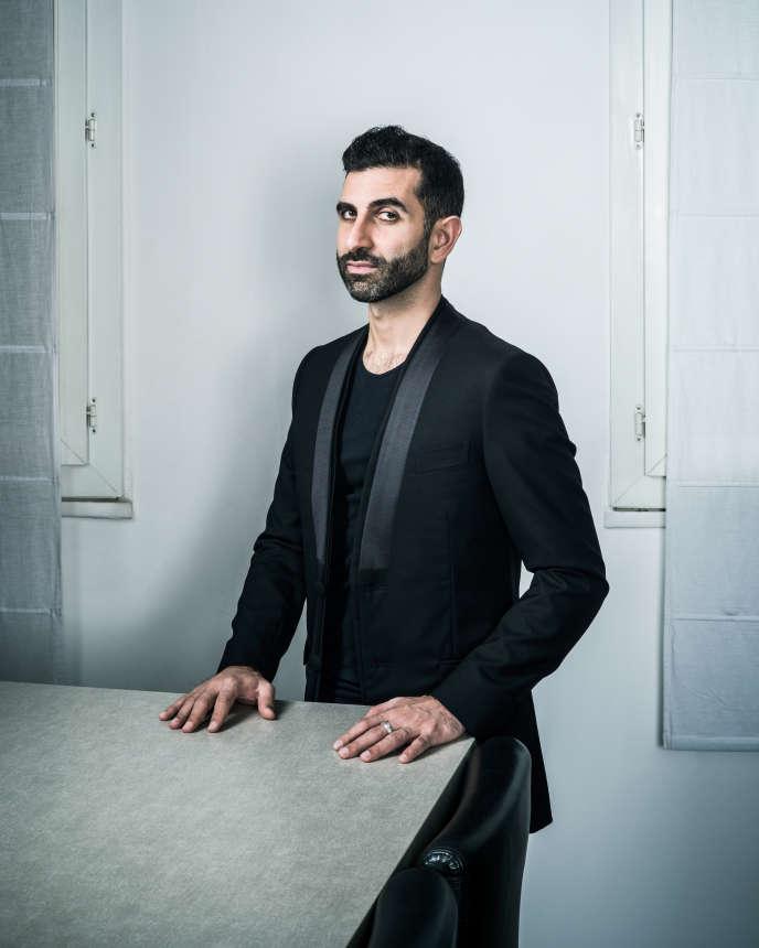 Kheiron, humoriste, auteur, scénariste, metteur en scène, rappeur, acteur et réalisateur français Paris, 7 novembre 2015