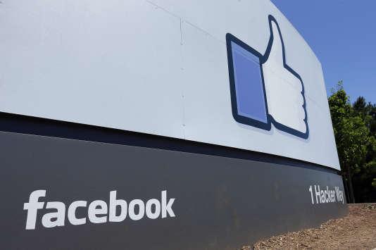 Le siège de Facebook à Menlo Park, en 2013.