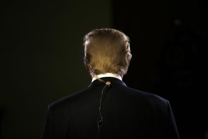 Donald Trump à Milwaukee, dans le Wisconsin, le 10 novembre.