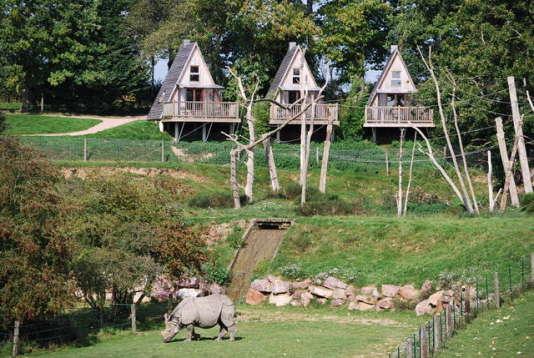 Les zoobservatoires du parc de Cerza