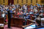 Manuel Valls face aux sénateurs, le 20 novembre 2015.