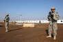 Des soldats américains à la base de Taji en Irak en décembre 2014.