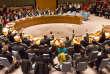 Les membres du Conseil de sécurité de l'ONU ont voté à l'unanimité la résolution française, le 20 novembre à New York.