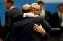 Jean-Claude Juncker et Pierre Moscovici au sommet du G20 à Antalya en Turquie le 15 novembre 2015.