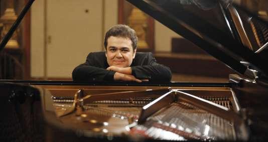 Le pianiste russe Arcadi Volodos.