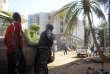 L'hôtel Radison de Bamako au Mali lors de l'attaque terroriste du 20 novembre 2015.