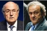 Sepp Blatter et Michel Platini, en 2015.