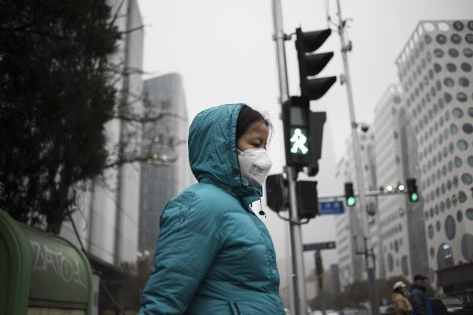 Dans les rues de Pékin, le 10 novembre 2015.