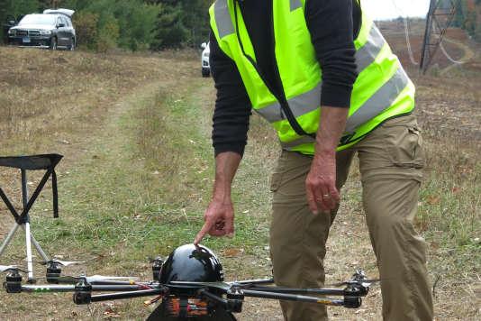 L'inspection d'infrastructuresconstitue l'un des secteurs les plus prometteurs pour les drones.