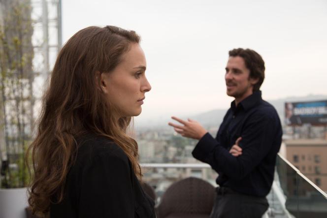 Natalie Portman et Christian Bale dans le film américain de Terrence Malick,