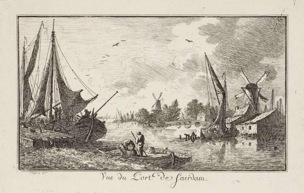 « Cette eau-forte est un témoignage du voyage de Cassas en Hollande en 1776 et de son admiration pour les paysagistes nordiques du XVIIe siècle. »