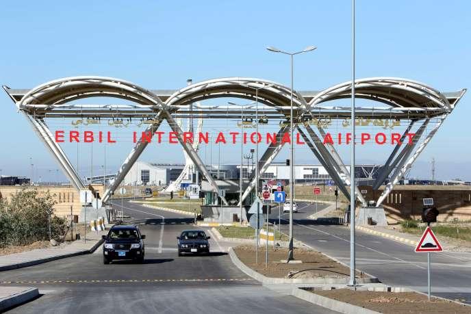 A l'aéroport international d'Erbil, le 23 novembre.