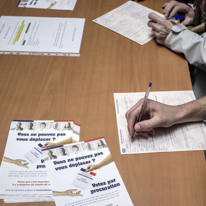 La procédure du vote par procuration a été simplifiée pour lutter contre l'abstention.