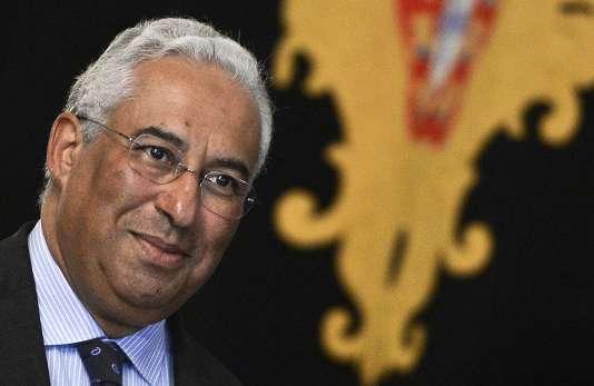 Antonio Costa, le chef du Parti socialiste, le 23 novembre.