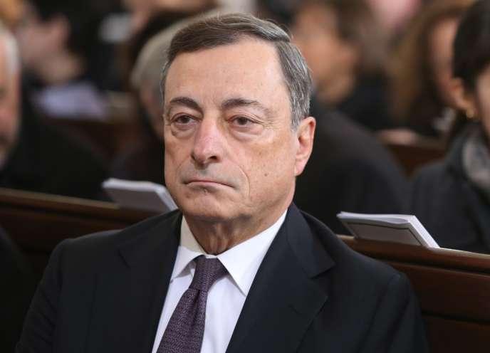 Mario Draghi, le président de la Banque centrale européenne, le 23 novembre 2015, à Hambourg.