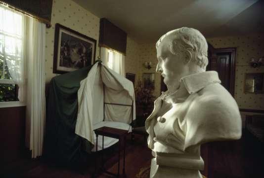 La Maison de Longwood, où l'empereur Napoléon Bonaparte est mort le 5 mai 1821.