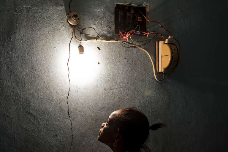 """Light Switch"", photographie digitale d'Emeka Okereke (Nigeria)."