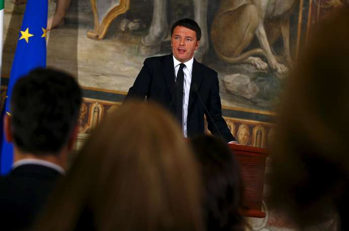 Matteo Renzi en novembre 2015.