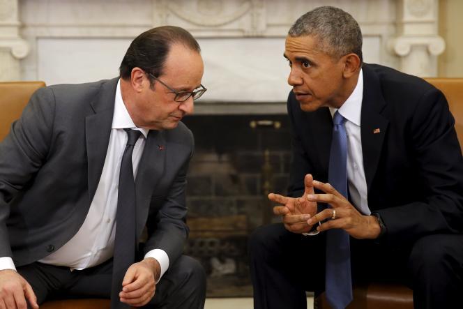 Rencontre, le 24 novembre à Washington, entre le président français et son homologue américain.